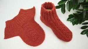 Kolay Patik Çorap Yapılışı