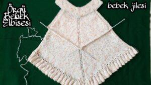 Örgü Bebek Elbisesi Yapımı 3
