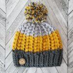 Örme Şapka Desenleri 99