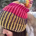 Örme Şapka Desenleri 104