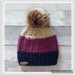 Örme Şapka Desenleri 108