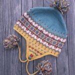 Örme Şapka Desenleri 109