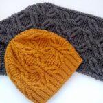 Örme Şapka Desenleri 15