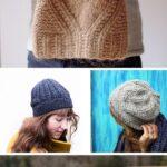 Örme Şapka Desenleri 1