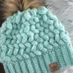 Örme Şapka Desenleri 23