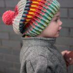 Örme Şapka Desenleri 28