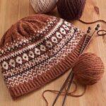 Örme Şapka Desenleri 30
