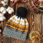Örme Şapka Desenleri 47