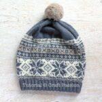Örme Şapka Desenleri 54