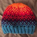 Örme Şapka Desenleri 56