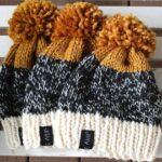 Örme Şapka Desenleri 57