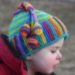 Örme Şapka Desenleri 62