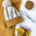 Örme Şapka Desenleri 6