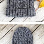 Örme Şapka Desenleri 89