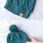 Örme Şapka Desenleri 98