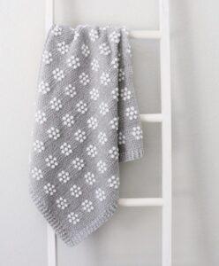 Tığ İle Bebek Battaniyesi 1