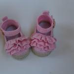 Tığla Bebek Patik Yapımı 1