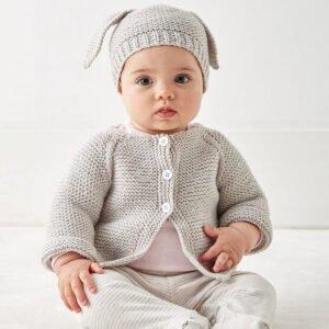 Düğmeli Bebek Hırkası Yapılışı