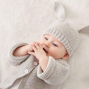 Düğmeli Bebek Hırkası Yapılışı 4