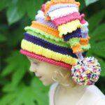Kız Bebek Şapkaları Modelleri 101