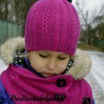 Kız Bebek Şapkaları Modelleri 11