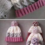 Kız Bebek Şapkaları Modelleri 24