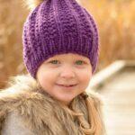 Kız Bebek Şapkaları Modelleri 25