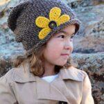 Kız Bebek Şapkaları Modelleri 26