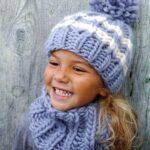 Kız Bebek Şapkaları Modelleri 34