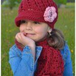 Kız Bebek Şapkaları Modelleri 39