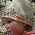 Kız Bebek Şapkaları Modelleri 44