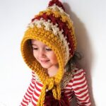 Kız Bebek Şapkaları Modelleri 46