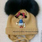 Kız Bebek Şapkaları Modelleri 4