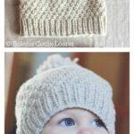 Kız Bebek Şapkaları Modelleri 5
