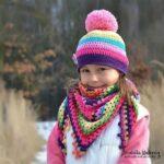 Kız Bebek Şapkaları Modelleri 86