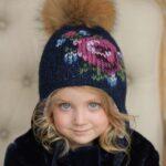 Kız Bebek Şapkaları Modelleri 87