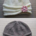 Kız Bebek Şapkaları Modelleri 91