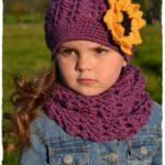 Kız Bebek Şapkaları Modelleri 95