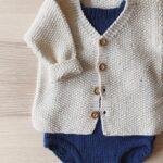 Pirinç Örgü Bebek Hırka Modelleri 19