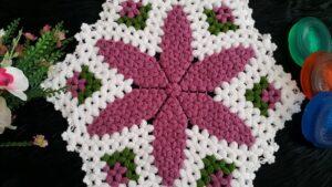 Süreyya Çiçeği Lif Yapımı 1