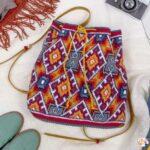 Tabanlı Wayuu Çanta Yapılışı 35