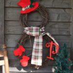 Yılbaşı Noel Çelenkleri ve Yapılışı 12