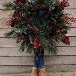 Yılbaşı Noel Çelenkleri ve Yapılışı 53
