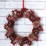 Yılbaşı Noel Çelenkleri ve Yapılışı 61