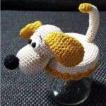 Amigurumi Köpek Şeker Kavanozu Yapımı 2