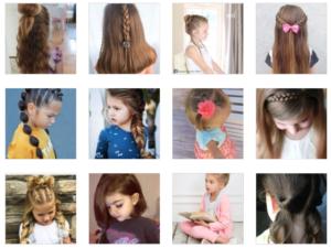 Basit Çocuk Saç Modelleri