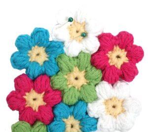 Çiçek Paspas Yapılışı 14