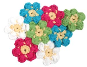 Çiçek Paspas Yapılışı 15