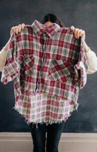 Eski Gömlekten Yeni Gömlek Yapımı 9