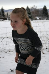 Eski Kazaktan Çocuk Elbisesi Yapılışı 9